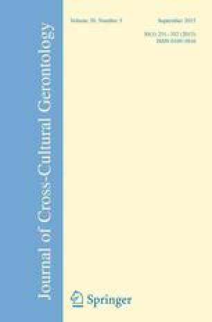 Journal of Cross-Cultural Gerontology