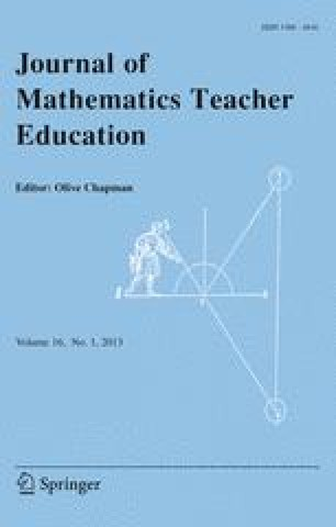 Journal Of Mathematics Teacher Education Springer