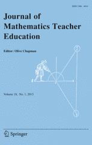 Journal of Mathematics Teacher Education - Springer