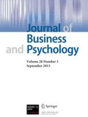 Journal of Business and Psychology