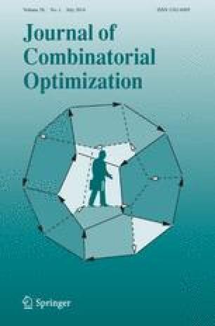 Journal of Combinatorial Optimization