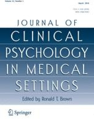 Journal of Clinical Psychology in Medical Settings