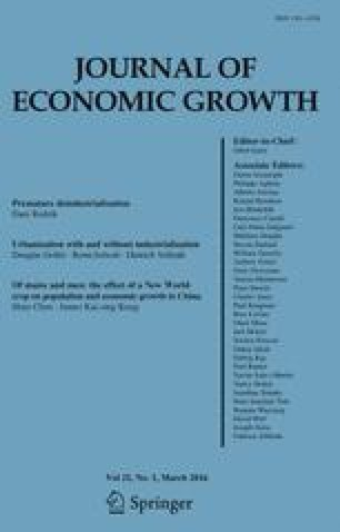 Journal of Economic Growth - Springer