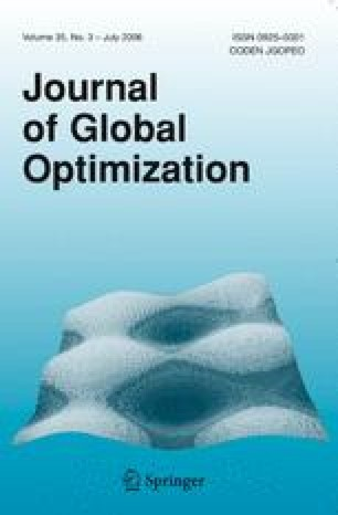 Global versus local search in constrained optimization of ...