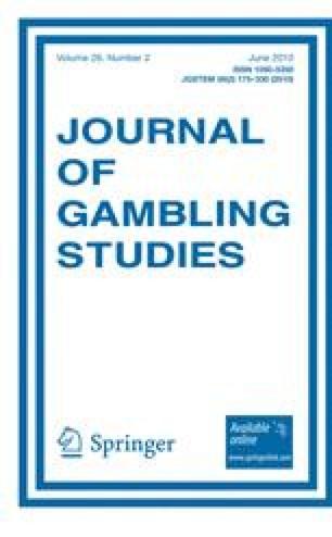 Картинки по запросу Journal of Gambling Studies