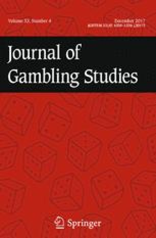 Journal of Gambling Studies
