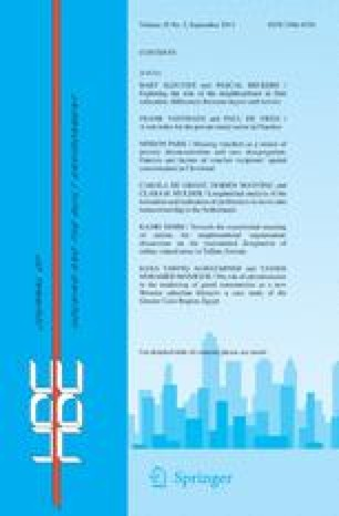 Netherlands journal of housing and the built environment