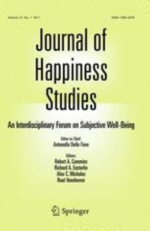 Journal of Happiness Studies