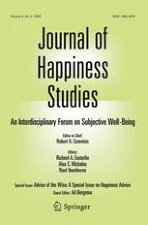 Healthy happiness: effects of happiness on physical health