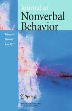 Картинки по запросу Journal of Nonverbal Behavior