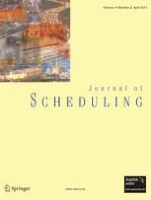 Journal of Scheduling