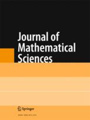 Journal of Soviet Mathematics