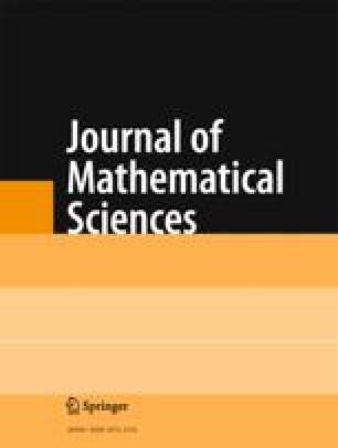 Journal of Soviet Mathematics