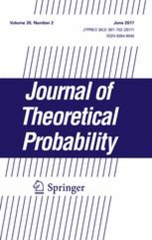 Journal of Theoretical Probability - Springer