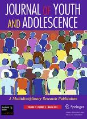 Journal of Youth and Adolescence - Springer