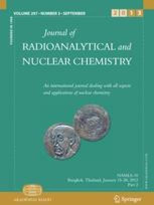Chemistry journal nuclear radioanalytical