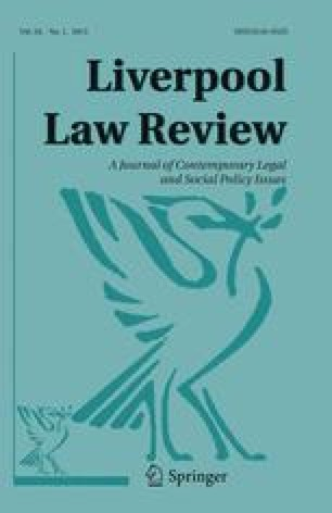 Liverpool Law Review