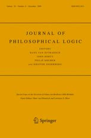 Journal of Philosophical Logic