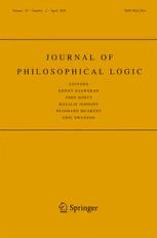 Journal of Philosophical Logic