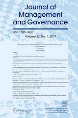 The governmentality of corporate (un)sustainability: the