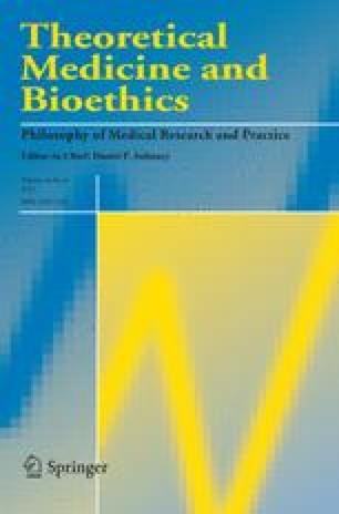 Theoretical Medicine and Bioethics