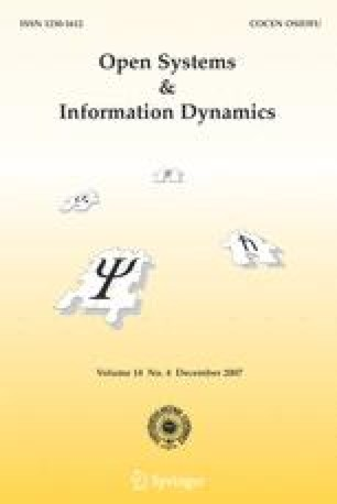 Open Systems & Information Dynamics