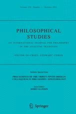 Philosophical Studies