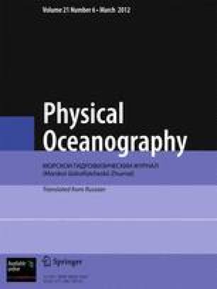 Soviet journal of physical oceanography
