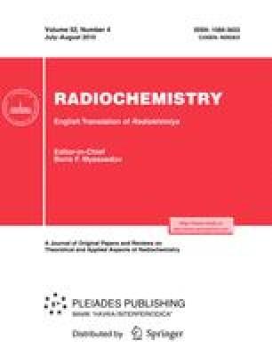 Radiochemistry