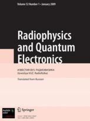 Radiophysics and Quantum Electronics