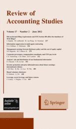 Review of Accounting Studies - Springer
