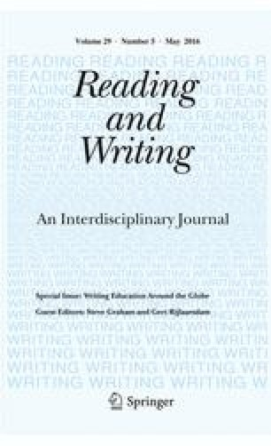 Reading and Writing - Springer