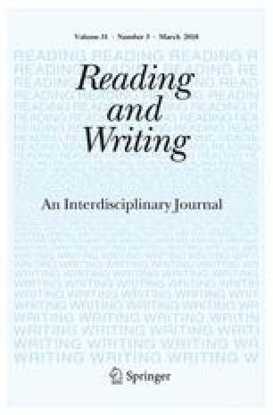 A longitudinal investigation of reading development from