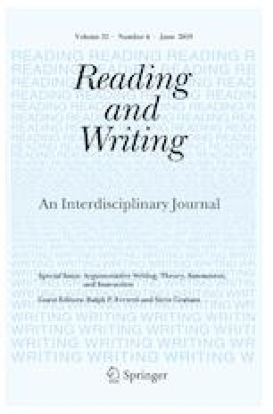 Argumentative writing: theory, assessment, and instruction