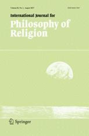 International Journal for Philosophy of Religion