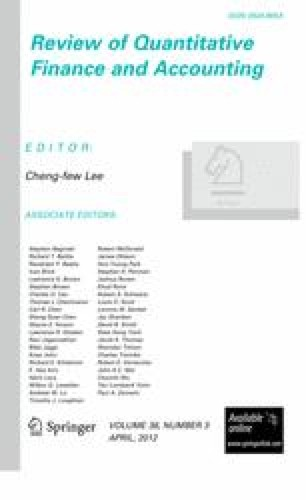 Review of Quantitative Finance and Accounting - Springer
