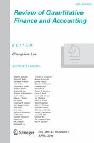 advances in quantitative analysis of finance and accounting vol 5 cheng few lee