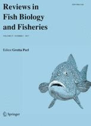 reviews in fish biology and fisheries springer