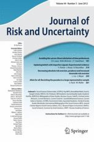 Learning by accident? Reductions in the risk of unplanned