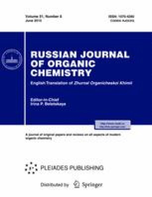 Russian Journal of Organic Chemistry