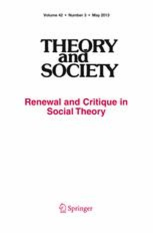 Theory and Society