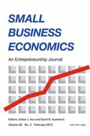 The Economics of Small Firms: An Introduction