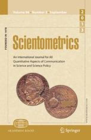 Scientometrics