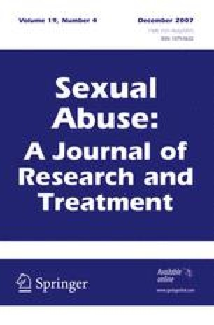Sexual Abuse: A Journal of Research and Treatment