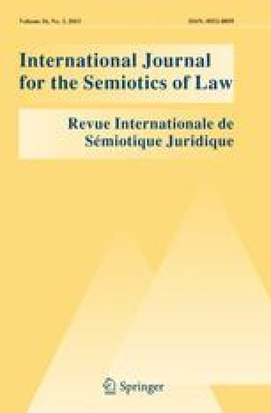 International Journal for the Semiotics of Law - Revue internationale de Sémiotique juridique