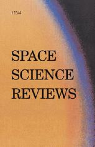 Space Science Reviews