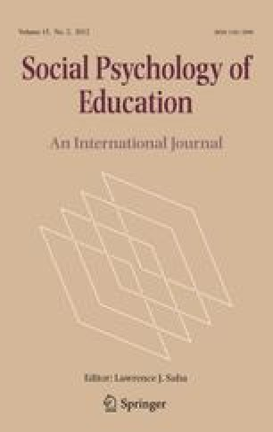 Social Psychology Of Education Springer