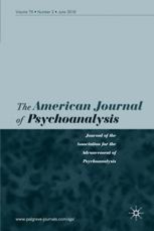 The American Journal of Psychoanalysis