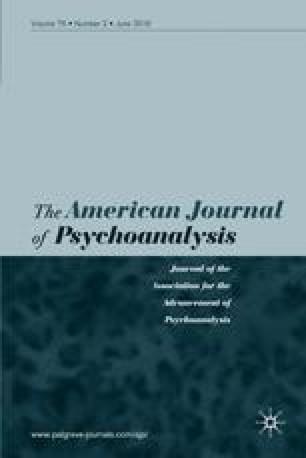 The American Journal of Psychoanalysis