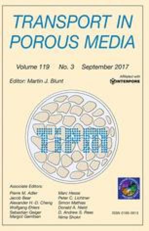 Transport in Porous Media